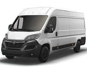 Opel Movano Van L4H2 2022 3D model
