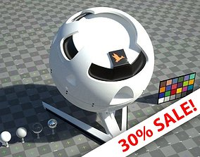 3D asset White ceramic - VRay shader no textures