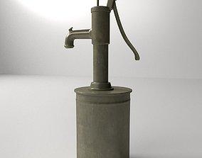 3D Vintage Water Pump