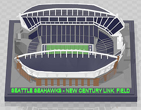 3D printable model Seattle Seahawks - CenturyLink Field