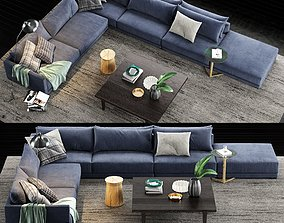 Poliform Bristol Sofa 4 3D