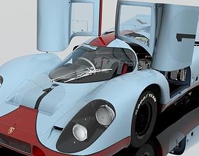 3D PBR Car Porsche 917 K racing 1