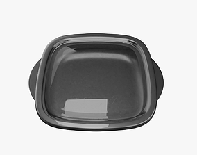 Food Container 3D asset