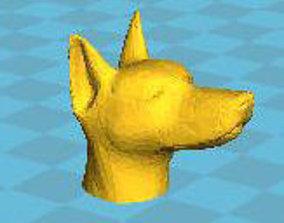 Doberman pencil figures 3D print model