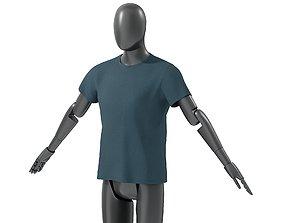 Mens Summer Tshirt 1 3D asset VR / AR ready