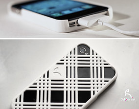 Stripes case for iPhone 4 3D printable model