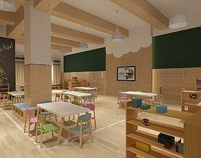 Kindergarten classroom 02 3D