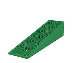 plastic 3D print model Door stop