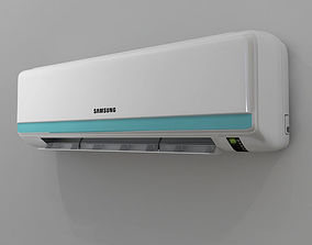 3D asset Samsung aircondition