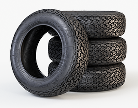 3D Michelin XWX Classic Car Tyre