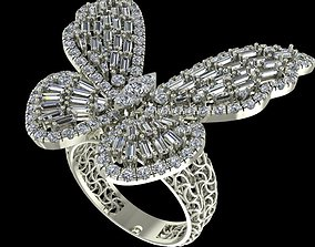 3D print model Jewelry Butterfly Ring