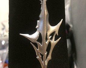 Lightning pendant Final fantasy 13 3D print model 1