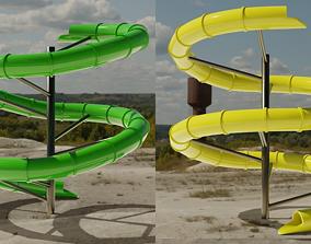 child Water Slide 3D models