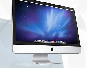 iMac 3D Model Apple game-ready