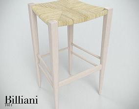 3D model Billiani Vincent VG stool 445 rope