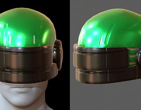 Helmet plastic mask protection pollution ball 3D asset
