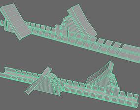 Low Rez Track Runner Block 3D equipment
