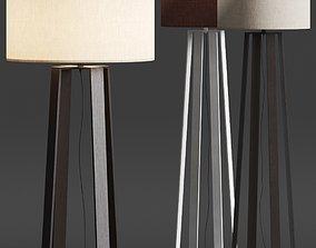 3D model Frato Glasgow Floor Lamp