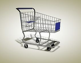 supermarket trolley 3D model other