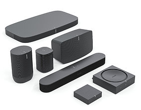 3D model Audio System Sonos Gen 2