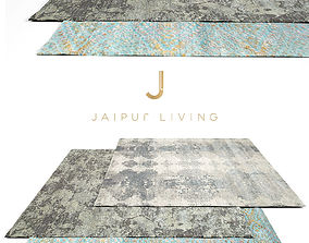 Jaipur Living Rug Set 4 3D model