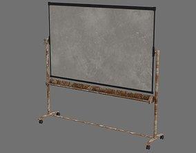3D model Whiteboard 1B