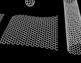 3D Carbon structures Graphene nanotube and fullerene tube