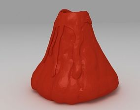 3D printable model Volcano Vase