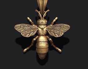 3D print model Bee pendant jewellery