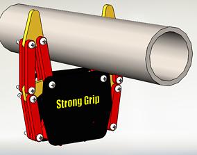 Smart Pipe Gripper 3D model
