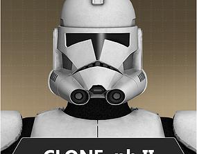 3D model Clone trooper phase II