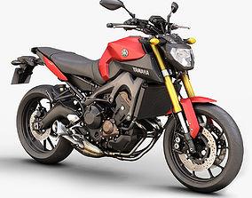 3D model PBR Yamaha MT-09 2014