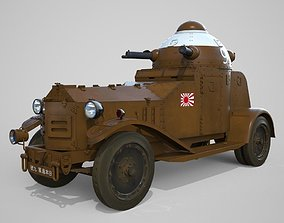 Vickers Crossley M1925 England 1925 3D model