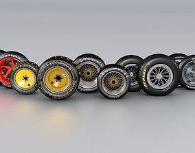 wheels Wheels Collection 3D model
