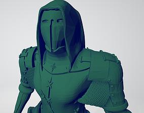 3D printable model Masked assasin fighter