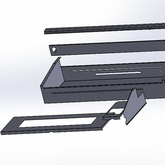 Sheet Metal Enclosure for Laser Etching Machine