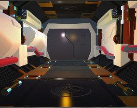 sci fi world 3D model