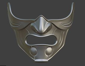 Raiden Samurai mask from Mortal 3D printable model 3