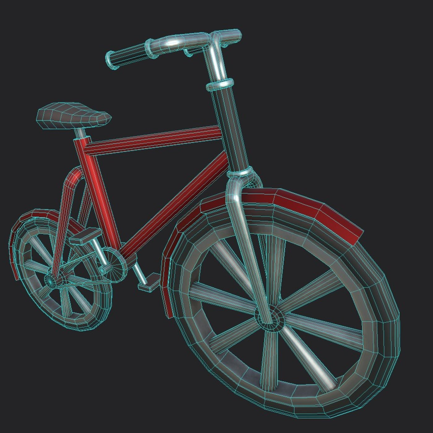 Bicycle Red