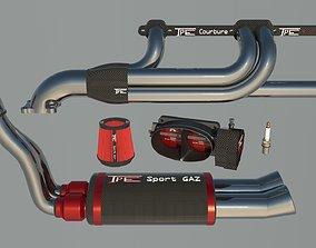 3D model Engine parts full TPE sport pack mecanic