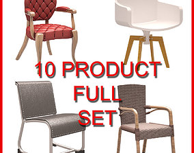 3D Chair Set 001 10 Product