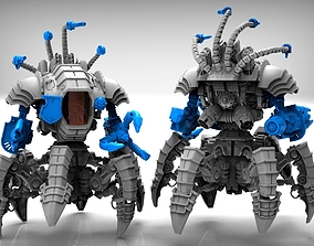 sci 3D printable model Arachknight legs