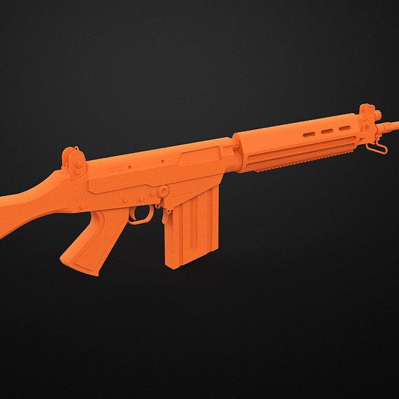 Rifle Imbel Fal 7,62