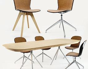 3D model BoConcept Adelaide Chair Ottawa Table