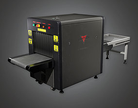 BHE - Security X Ray Machine - PBR Game Ready 3D model