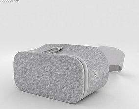 3D Google Daydream View Snow