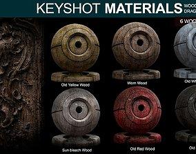Wood Materials 2 For Keyshot 3D
