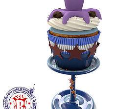 3D Octopussy cupcake