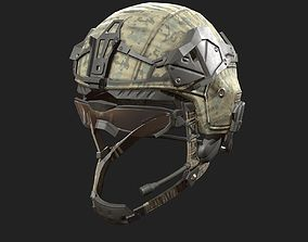 3D model Helmet military Scifi