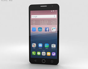 Alcatel OneTouch Pop Star Gray 3D